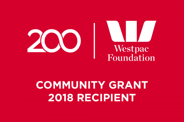 Westpac Foundation Community Grant