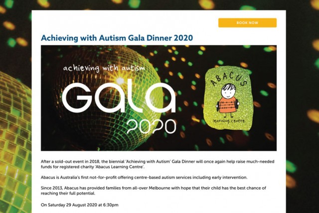 Gala Tickets On Sale Now